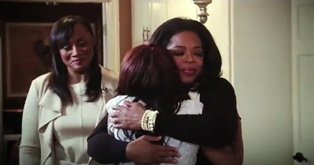 Oprah, Bobbi Kristina & Patricia Houston