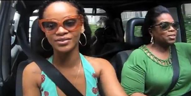 Rihanna & Oprah