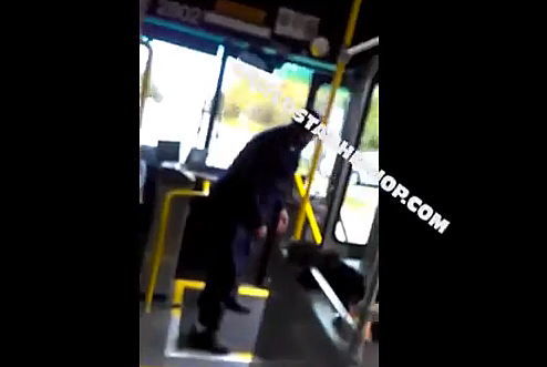 Cleveland Bus Driver Punches Lady
